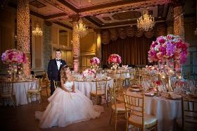 Cece and John Kemnitzer before their beautiful Drake wedding