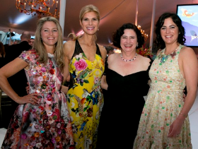 Butterfly Ball Co-chairs Julie O'Connor, Ann Jones, Leslie Burns, Holly Maloney