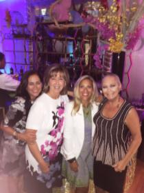 With Jean Antoniou, Maria Zec and Sharyl Mackey