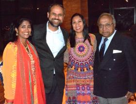 Shilpi Shah and Ritesha Shah, Reena Kansal and Roshan Goel