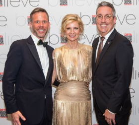 Gala co-chairs, left to right:  Brigg Klein, Mary Jo Fasan and Jeremy T. Davis