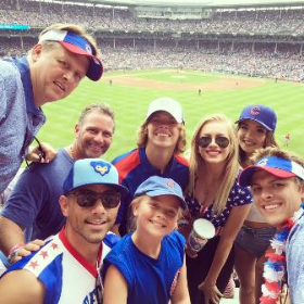 Billy Dec's July 4th family reunion at Wrigley Field
