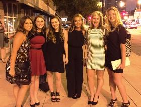 The beautiful ladies of Margie Korshak PR