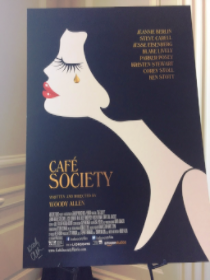 A signed Woody Allen film poster