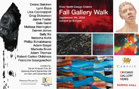 River North Gallery Walk Friday, Sept. 9