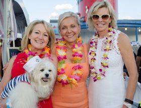 Kim Gleeson (with Spencer), Paula Fasseas and Cheri Lawrence
