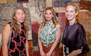 Shasha Caudill, Meredith Bluhm-Wolf and Kristine Bell