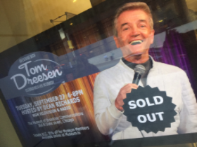 """""""An Evening with Tom Dreesen"""" was a sellout at the Museum of Broadcast Communications"""