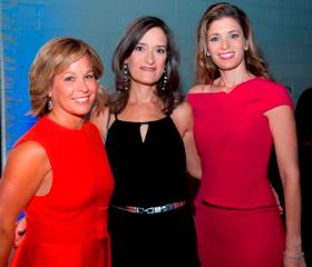 Kim Friesen, Ilene Goldman, Nicole Legere (Children's Service Board Pres.)