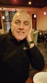 John Lanzendorf at his beloved restaurant Ping Pong (Photo by Michael Kutza)