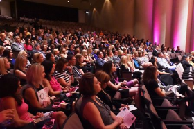 A Bright Pink crowd for new ChangeMakers benefit