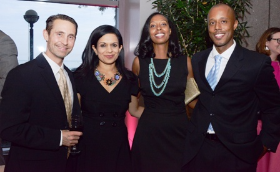 Andrew Annacone, Bela Gandhi, Omowale Casselle and Rahwa Casselle