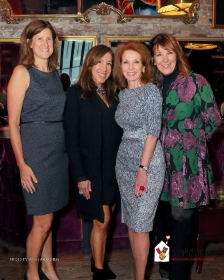 Co-chairs Nina Mariano, Sheryl Dyer and Melinda Jakovich with Holly Buckendahl (CEO for RMHC-CNI)