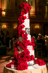 125th anniversary cake at The Palmer House