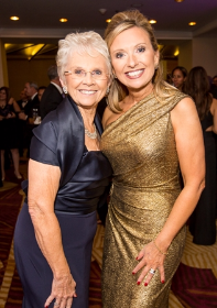 Judith Schwartz and her darling daughter, co-chair Andrea Schwartz Stryker