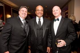 John Idler, co-chair Rich Gamble and Chris Garrity