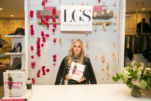 Kristin Cavallari signs her book at Luxury Garage Sale