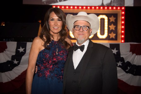 Susan Williams with Bobcat Goldthwait