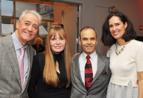 Scott Simon, Donna La Pietra, Scott Turow and Caroline Simon