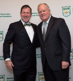 Bill Rogers with Johnny Miller