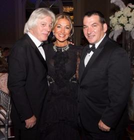 Jimmy and Eleni Bousis and friend