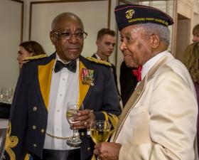 Colonel Eugene Scott and Ambassador Theodore Britton
