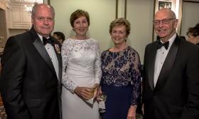 John and Barbara Odegaard and Penny and Bill Obenshain