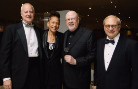 Mike Richmond, Laura Washington, Neil Ross and David Weinberg