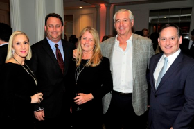 Stacey Brandt, John Couris, Kathy Petri and Dr. Lee Fox