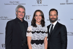 ABT Artistic Director Kevin McKenzie, ABT Executive Director Kara Medoff Barnett and choreographer and dancer Benjamin Millepied