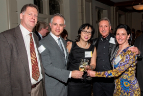 Mark Bacharach, David Hoyt, Debbie Wang, Marc Wigler and Elizabeth Foster