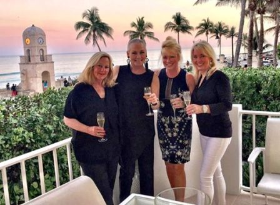 Palm Beach with Leslie Hindman, Julie Geier and Gayle Anthony