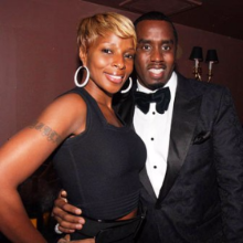 Mary J. Blige and Diddy