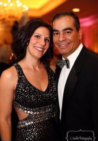 New SC president Simona Garcia with husband Dennis (Photo by Caitlin Saville Collins)