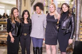 Ellery Garland, Lina Gheyssari, Alexis Wells, Kim Bakota, Samantha Lula
