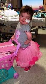Brave and joyful little Leah!