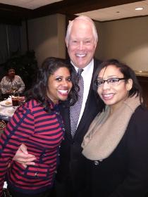 Aisha Murff, Chuck and friend