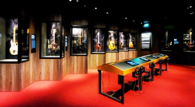 Guitar Gallery at Exhibitionism