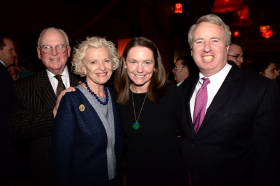 Alderman Ed Burke, Justice Anne Burke, Sheila and Chris Kennedy