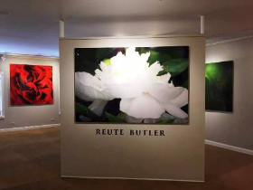 Reute Butler's photography exhibition at Findlay Galleries in Palm Beach