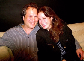 Sally Schwartz and husband Reid Brody