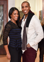Dr. Jessica Shepherd and her hubby Marvin Jackson