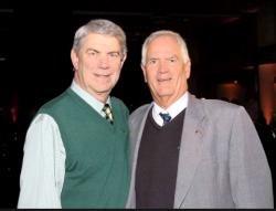 Joe with his brother Bill Schmidt.