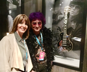 Rocker Jim Peterik and wife Karen