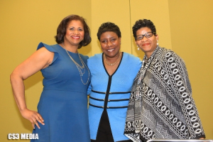Natalie Howse, Evelyn Holmes and Geneva Reed
