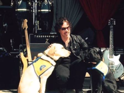 John Oates with his CCI dog Lane