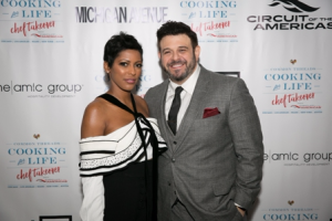 Honorary hosts Tamron Hall and Adam Richman