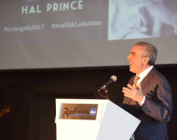 Honorary Chair Paul Lisnek opens the ICONS Gala