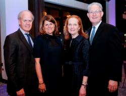 (from left) Kevin Buzard, Elizabeth Nolan, Francia Harrington and Vern Broders