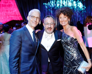 Kevin Salatino, Gary Metzner and Gloria Groom